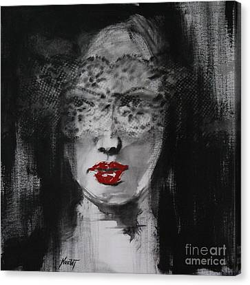 Presently Unveiled Canvas Print by Jindra Noewi