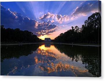 Preservation Of The Spirit Canvas Print by Mitch Cat