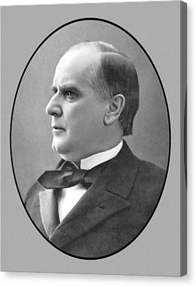 President Mckinley Canvas Print by War Is Hell Store