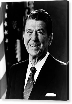 President Ronald Reagan Canvas Print by International  Images