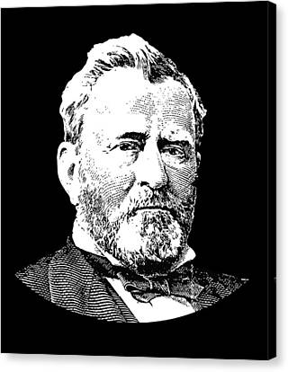 President Ulysses S. Grant Canvas Print by War Is Hell Store