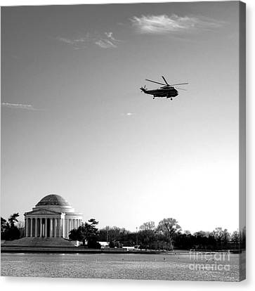 Presidential Salute Canvas Print by Olivier Le Queinec