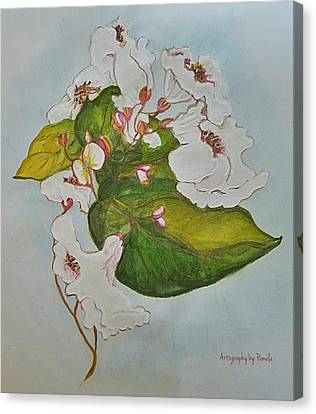 Pretender Orchid Canvas Print by ARTography by Pamela Smale Williams