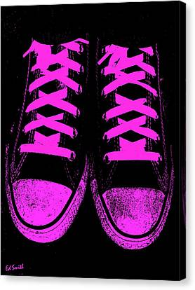 Pretty In Pink Canvas Print by Ed Smith