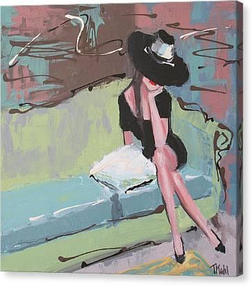 Pretty Woman Canvas Print by Thalia Kahl