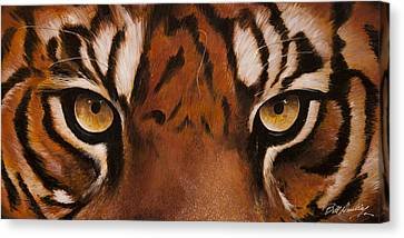 Prey For Me Canvas Print by Bill Dunkley