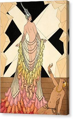 Pride Canvas Print by Georges Barbier
