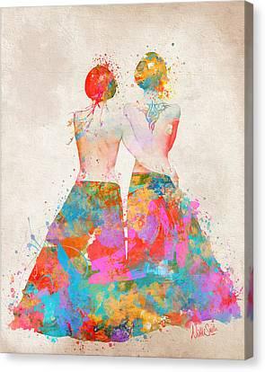 Pride Not Prejudice Canvas Print by Nikki Marie Smith