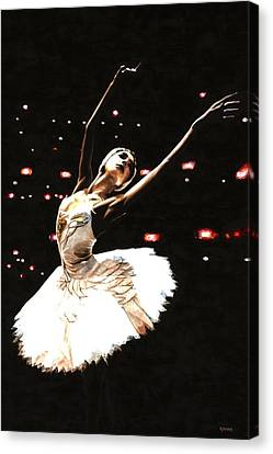 Prima Ballerina Canvas Print by Richard Young
