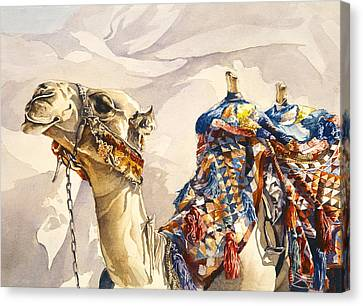 Prince Of The Desert Canvas Print by Beth Kantor