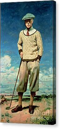 Prince Of Wales Canvas Print by Sir William
