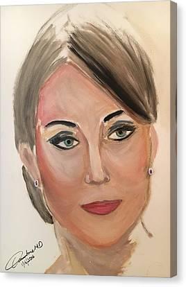 Princess Kate Canvas Print by Cleofe Guangko