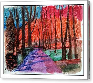 Private Road Canvas Print by Don Schaeffer