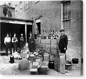 Prohibition, 1922 Canvas Print by Granger