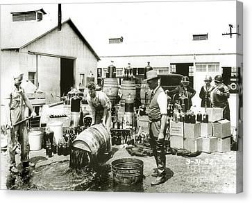 Prohibition Agents Canvas Print by Jon Neidert