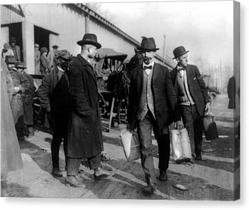 Prohibition, Two Men, Probably Canvas Print by Everett