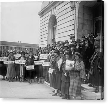 Prohibition, Women From New Jersey Canvas Print by Everett