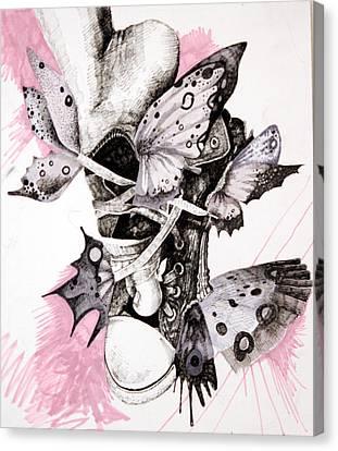 Project Set Me Free Canvas Print by Beka Burns