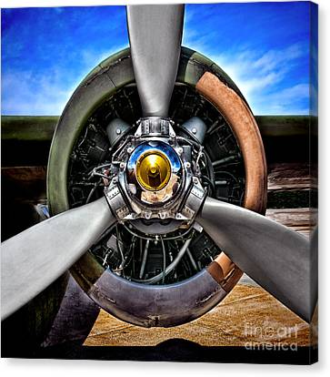 Propeller Art   Canvas Print by Olivier Le Queinec