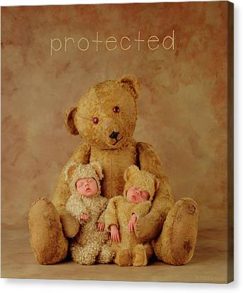Protected Canvas Print by Anne Geddes