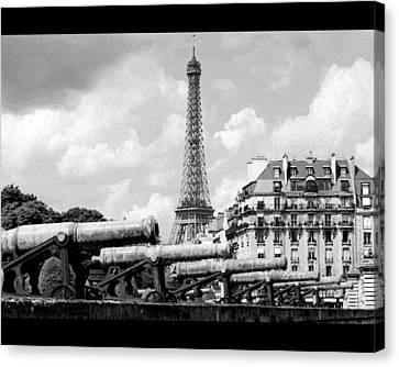Protecting Paris Canvas Print by Don Wolf