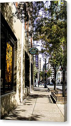 Puckett's Grocery And Restaurant Nashville Tennessee Canvas Print by Marina McLain