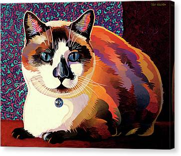 Puddin Canvas Print by Bob Coonts