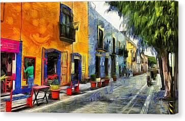 Puebla Canvas Print by Jean-Marc Lacombe