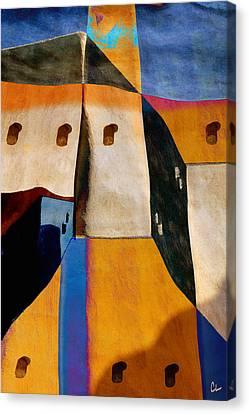 Pueblo Number 1 Canvas Print by Carol Leigh