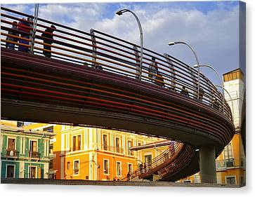 Puente Canvas Print by Skip Hunt