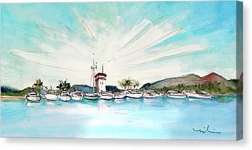 Puerto Portals 01 Canvas Print by Miki De Goodaboom