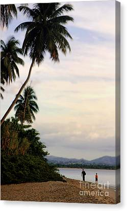 Puerto Rico Palms Canvas Print by Madeline Ellis