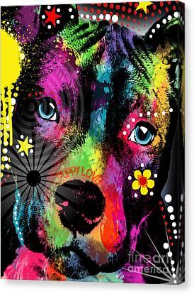 Puppy  Canvas Print by Mark Ashkenazi