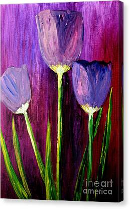 Purely Purple  Canvas Print by Julie Lueders