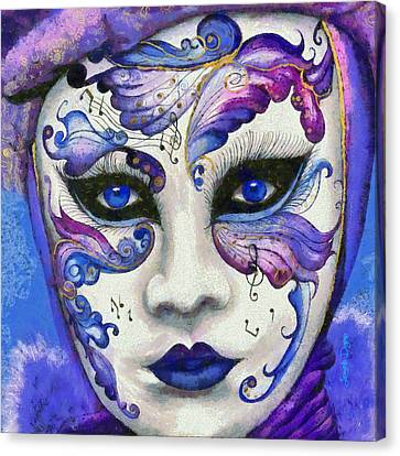 Purple Carnival - Da Canvas Print by Leonardo Digenio