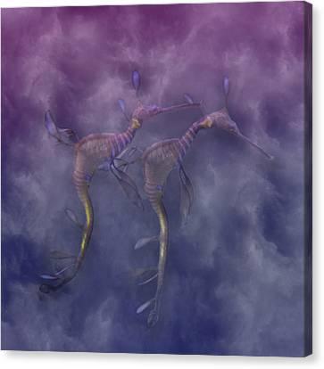 Purple Haze Canvas Print by Betsy Knapp