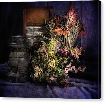 Purple Still Canvas Print by Camille Lopez