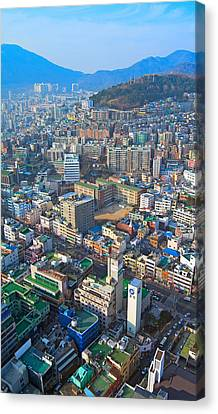 Pusan City South Korea 2012 Canvas Print by Eduard Kraft