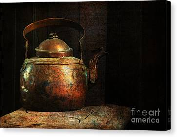 Put The Kettle On Canvas Print by Lois Bryan