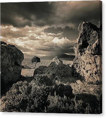 Pyramid Lake, Nevada, Usa Canvas Print by Mel Curtis