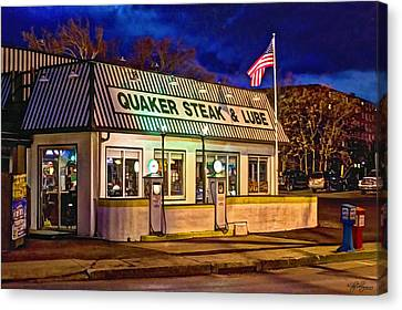 Quaker Steak And Lube Canvas Print by Skip Tribby