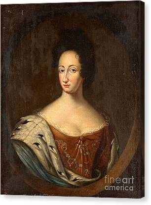 Queen Ulrika Eleonora  Canvas Print by Celestial Images