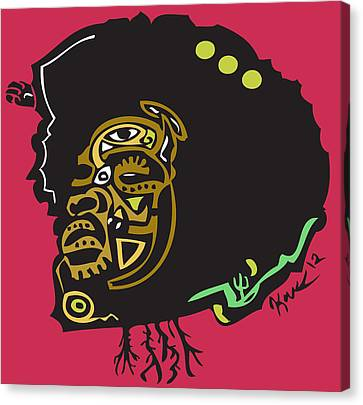 Questlove  Canvas Print by Kamoni Khem