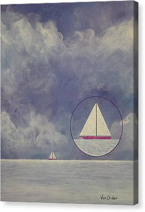 Quiet Before The Storm Canvas Print by Richard Van Order