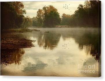 Quiet River Canvas Print by Tamyra Ayles