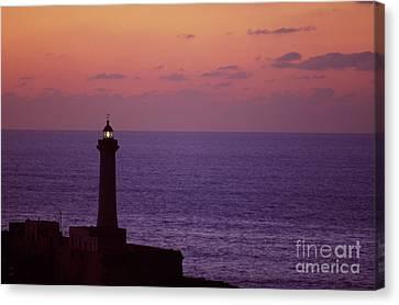 Rabat Morocco Lighthouse Canvas Print by Antonio Martinho
