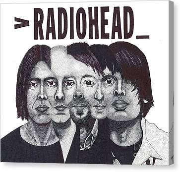 Radioheads Canvas Print by Mark Richardson