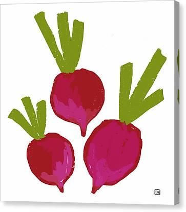 Radish Canvas Print by Lisa Weedn