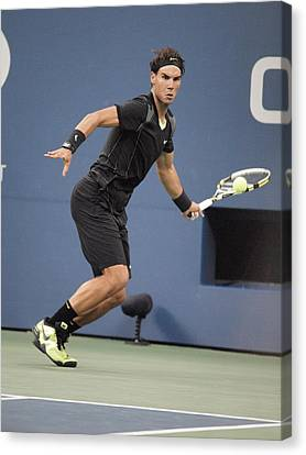 Rafael Nadal In Attendance For Us Open Canvas Print by Everett