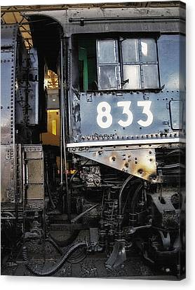 Railroad Museum 3 Canvas Print by Steve Ohlsen